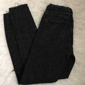 BDG High Rise Skinny Black Jeans